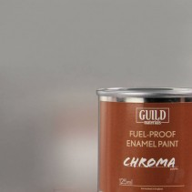 Chroma Gloss Enamel Fuel-Proof Paint Silver (125ml Tin) GLDCHR6207