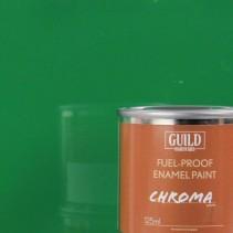 Guild Materials Gloss Enamel Fuel-Proof Paint Green (125ml Tin) GLDCHR6217