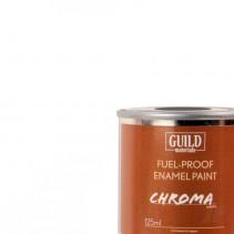 Chroma Matt Enamel Fuel-Proof Paint White (125ml Tin) GLDCHR6300