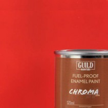 Chroma Matt Enamel Fuel-Proof Paint Red (125ml Tin) GLDCHR6301