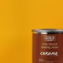 Guild Materials Matt Enamel Fuel-Proof Paint Cub Yellow (125ml Tin) GLDCHR6302