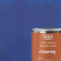 Chroma Matt Enamel Fuel-Proof Paint Dark Blue (125ml Tin) GLDCHR6304