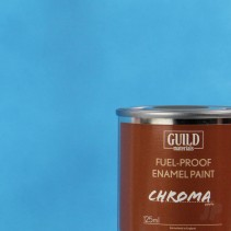 Chroma Matt Enamel Fuel-Proof Paint Light Blue (125ml Tin) GLDCHR6305