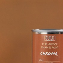 Chroma Matt Enamel Fuel-Proof Paint Dark Earth (125ml Tin) GLDCHR6314