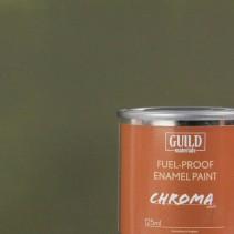 Chroma Matt Enamel Fuel-Proof Paint Olive Drab (125ml Tin) GLDCHR6315