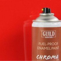 Chroma  Gloss Enamel Fuel-Proof Paint  Red (400ml Aerosol) GLDCHR6401