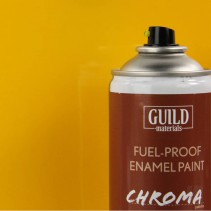 Guild Materials 400ml Fuel-Proof CUB YELLOW GLOSS GLDCHR6402