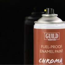 Guild Materials 400ml Fuel-Proof BLACK GLOSS GLDCHR6403