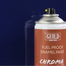 Chroma  Gloss Enamel Fuel-Proof Paint Dark Blue (400ml Aerosol) GLDCHR6404