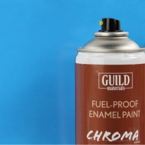 Chroma  Gloss Enamel Fuel-Proof Paint Light Blue (400ml Aerosol) GLDCHR6405