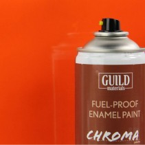 Chroma  Gloss Enamel Fuel-Proof Paint Orange (400ml Aerosol) GLDCHR6406