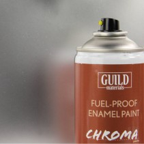 Chroma  Gloss Enamel Fuel-Proof Paint Silver (400ml Aerosol) GLDCHR6407