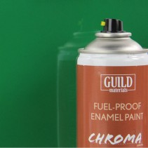 Chroma  Gloss Enamel Fuel-Proof Paint Green (400ml Aerosol) GLDCHR6417