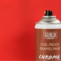 Chroma  Matt  Enamel Fuel-Proof Paint Red (400ml Aerosol) GLDCHR6501