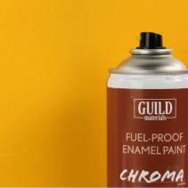 Chroma  Matt  Enamel Fuel-Proof Paint Yellow (400ml Aerosol) GLDCHR6502