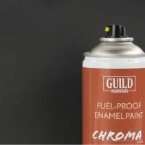 Chroma Matt Enamel Fuel-Proof Paint Black (400ml Aerosol) GLDCHR6503