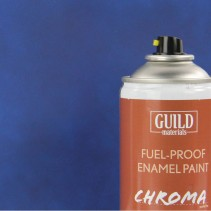 Chroma  Matt  Enamel Fuel-Proof Paint Dark Blue (400ml Aerosol) GLDCHR6504