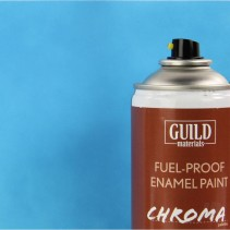 Chroma  Matt  Enamel Fuel-Proof Paint Light Blue (400ml Aerosol) GLDCHR6505