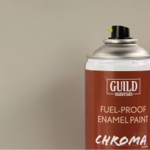 Chroma  Matt  Enamel Fuel-Proof Paint Light Grey (400ml Aerosol) GLDCHR6510