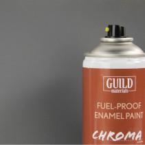 Chroma Enamel Fuelproof Paint Matt Dark Grey (400ml Aerosol)