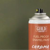 Chroma  Matt Enamel Fuel-Proof Paint Olive Drab (400ml Aerosol) GLDCHR6515