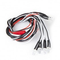 Komodo LED Light Kit 5mm White (4) & 5mm Red (2) GM30055