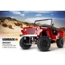 GMade 1/10 GS01 Sawback 4WD ARTR Crawler - Red GM52001