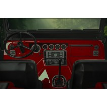 GMade 1/10 GS01 Sawback 4WD ARTR Crawler - Red GM52001