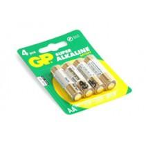 GP Alkaline AA Pencell; Card 4 ..