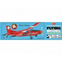 Guillows PC-6 Porter Wooden Model Kit G304