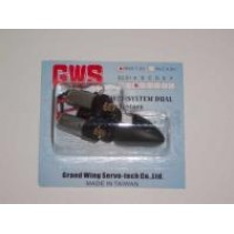 GWS RC Indoor Power System Dual IPS Twin Motors