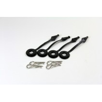 Absima H135B Bodypins & Holders (4) 1/10 SC