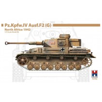 HOBBY 2000 1/72 PZ.KPFW.IV AUSF.F2 (G) NORTH AFRICA 1942 H2K72702