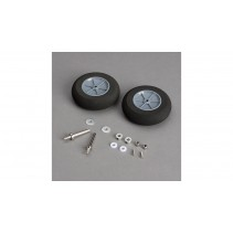 Hangar 9 Main Wheels with Axles: Cirrus SR22T 30cc F-HAN502014