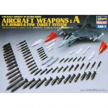 Hasegawa Aircraft Weapons : A U.S. Bombs & Tow Target System 1/48 HAX481