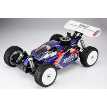 HOBAO HBM7-TQF28BU HYPER 7 TQ2 RTR BUGGY w/MAC*28 TURBO ENGINE, 2.4ghz RADIO