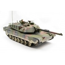 RC M1A1 Abrams Tank with 2.4Ghz Radio System - Camouflage - Premium Label