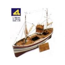 Artesania Latina Hellen English Coastal Fishing Boat AL20203