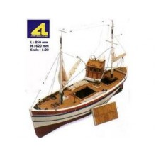 Artesania Latina Hellen English Coastal Fishing Boat AL20203