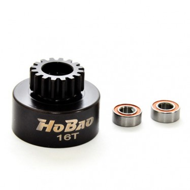 Hobao 16T Replacement Clutch Bell w/Bearing HFR24B