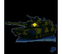 M1A2 ABRAMS 1/16 2.4 BATTLE TANK HLG3918-1B