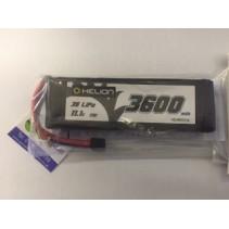 Rivos 11.1V 3S 3600 mAh 25C Lipo Battery