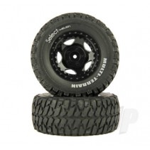Helion Tire and Wheel Assembled Black (410SC) HLNS1102
