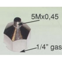 "HS-A7  1/4"" BSP to 5M x 0.45"