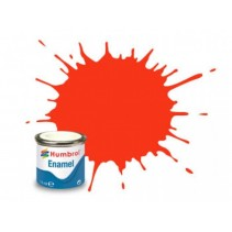 Humbrol Enamel No 132 Red - Satin Tinlet 14ml