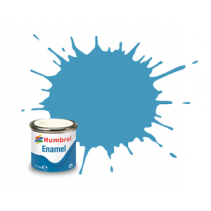 Humbrol Enamel No 89 Middle Blue - Matt - Tinlet 14ml