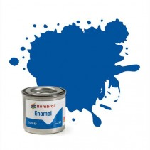 Humbrol Enamel No 14 French Blue - Gloss - Tinlet (14ml)