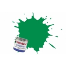 Humbrol Enamel No 02 Emerald - Gloss - Tinlet (14ml)