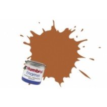 Humbrol Enamel No 9  Tan Gloss - Tinlet 14ml