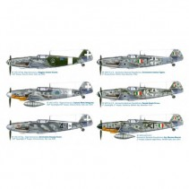 Italeri Super Decals BF109 G-6 Italian Aces 1/48 IT2719
